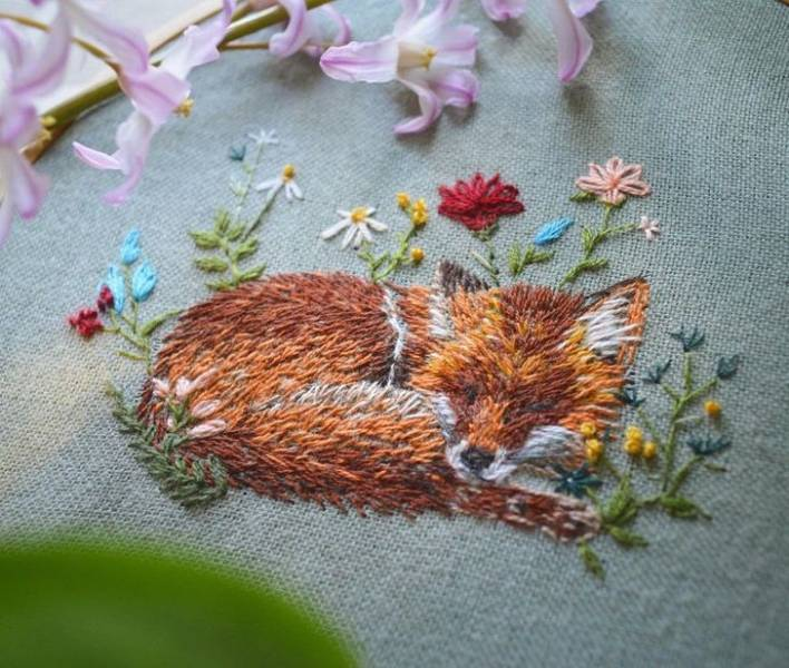 Embroidery Can Be So Beautiful!