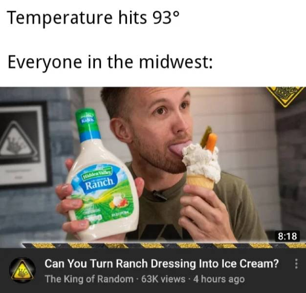 Need Some Ranch With These Midwest Memes?