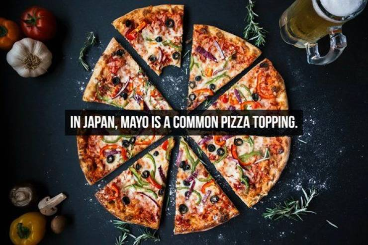 What's Better Than Pizza? Pizza Facts! (Well, Not Really)