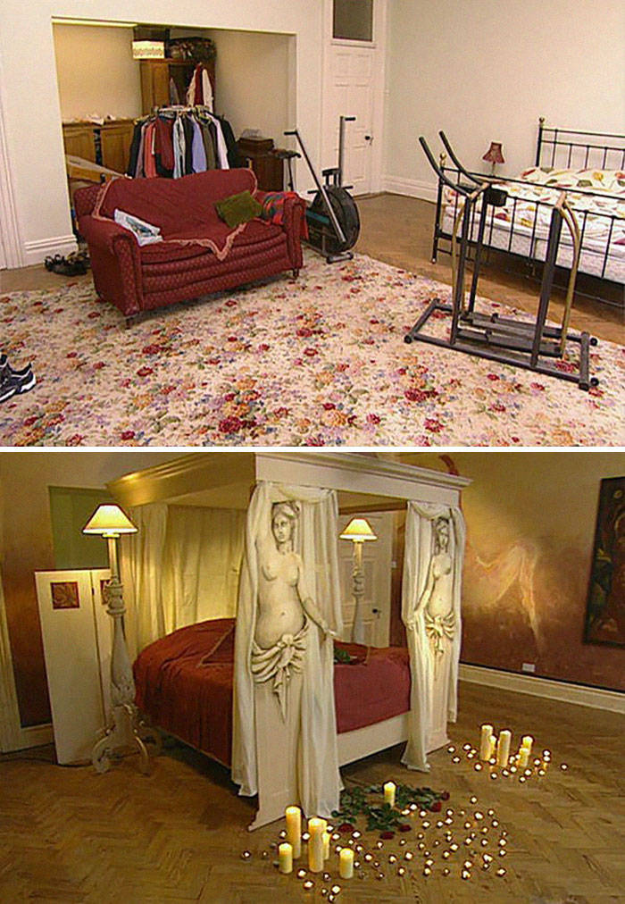 """Not All """"Changing Rooms"""" Makeovers Were Particularly Successful…"""