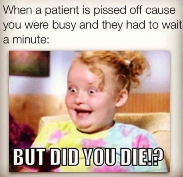 Nurses Have Their Own Kind Of Memes…