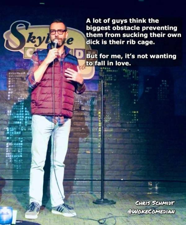 Some Great Pieces Of Stand-Up Comedy