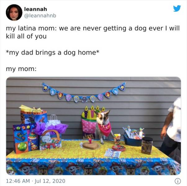 Latina Moms Don't Want Any Dogs In Their House…
