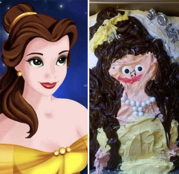 Expectations Vs Reality: Cake Edition