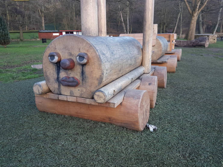 These Playgrounds Don't Look Like Fun…