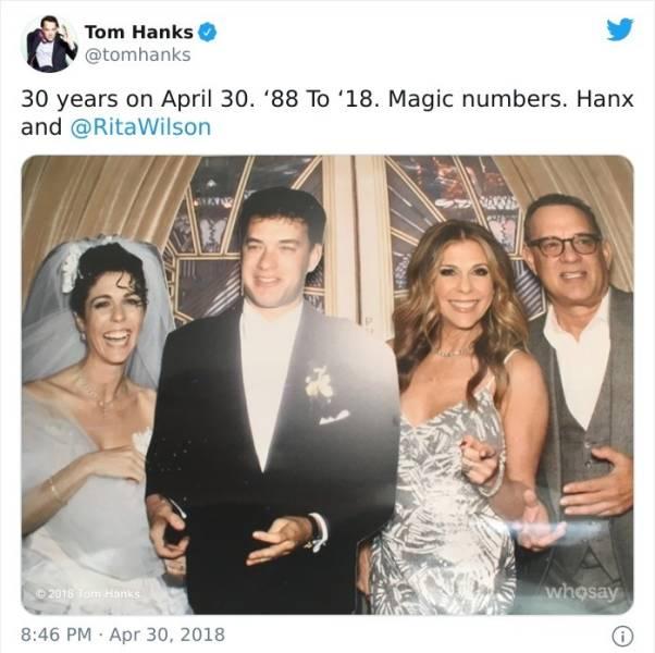 "Tom Hanks' ""Twitter"" Account Is Pure Wholesomeness!"