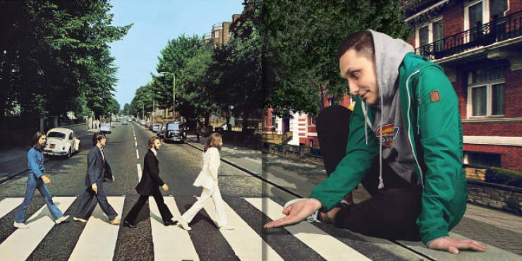 """Russian Guy Turns Famous Music Album Covers Into """"Augmented Reality"""""""