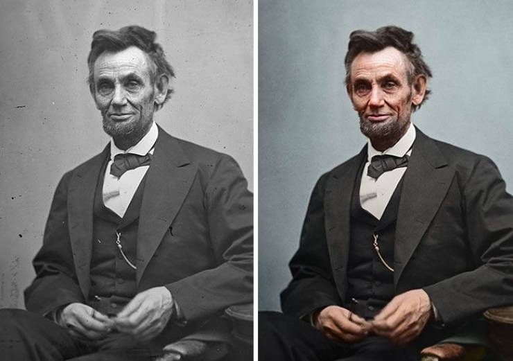 Artist Restores And Colorizes Old Photos Of US Presidents