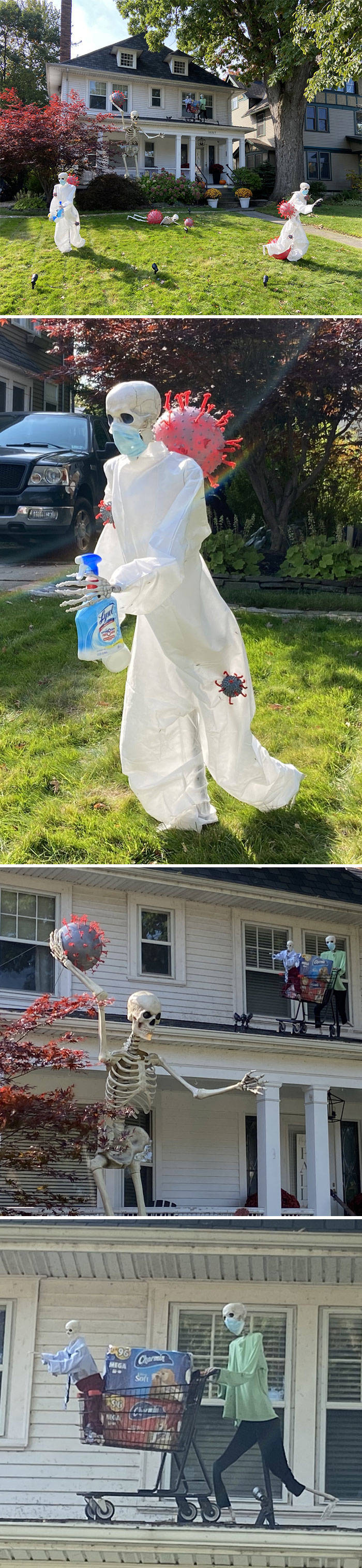 These Halloween Decorations Are Rather Scary…