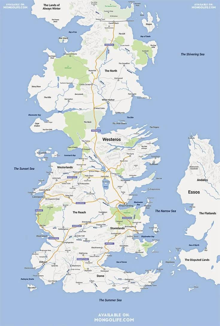Fictional Maps Are So Cool!