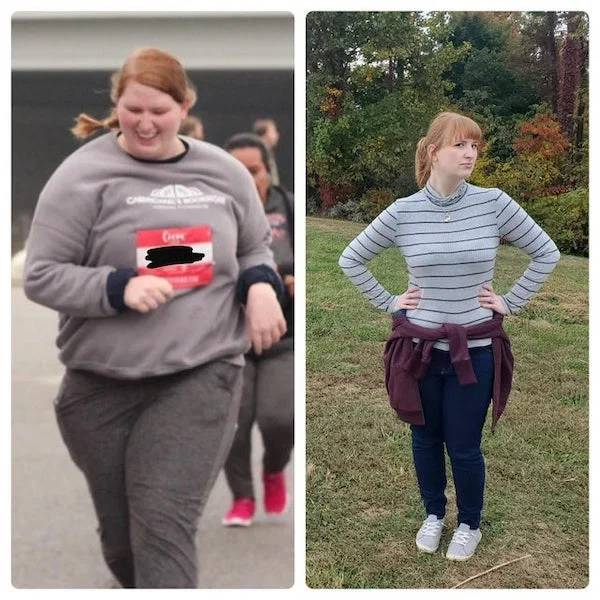 Women Who Worked A Lot To Achieve Their Weight Loss Goals