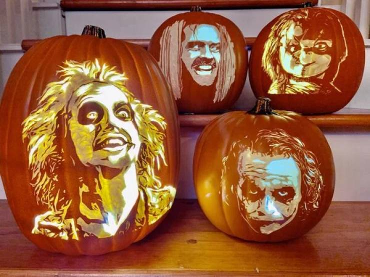 Now This Is How You Carve A Pumpkin!