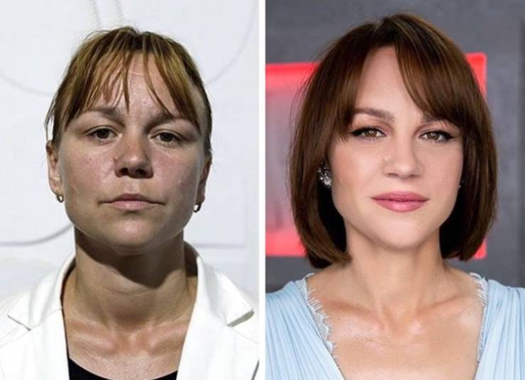 How Fresh Makeup And A New Hairstyle Can Change Woman's Appearance