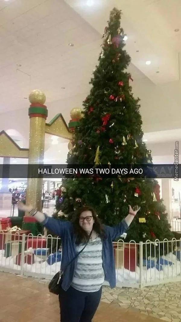 Halloween Is Over. Christmas, Here We Come!