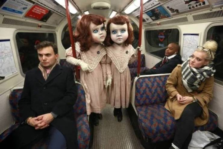Subway Is A… Curious Place…