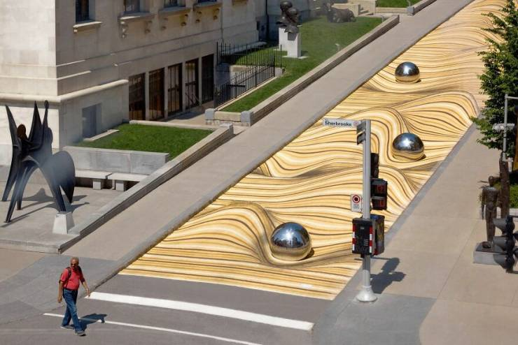 This Is Not A Funky Desert, It's A Street In Montreal