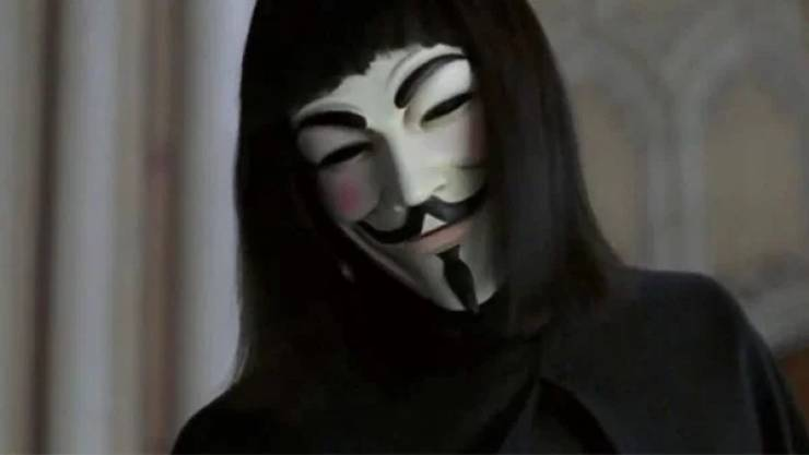 V For What? V For Vendetta!