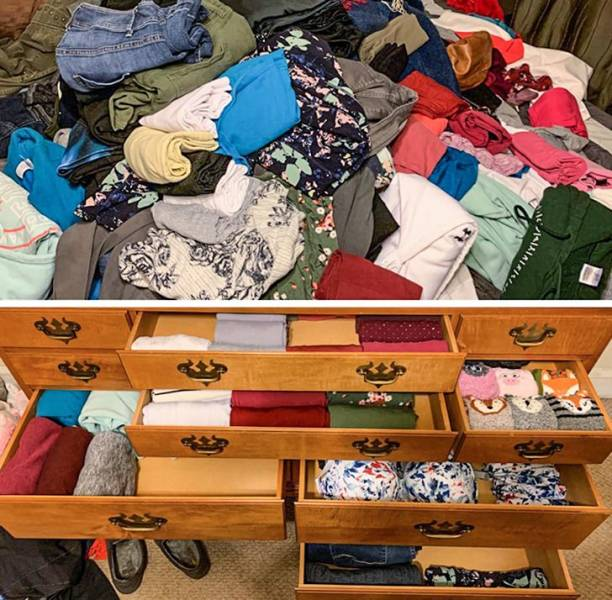 What Happens When You Remove All The Clutter From Your Home