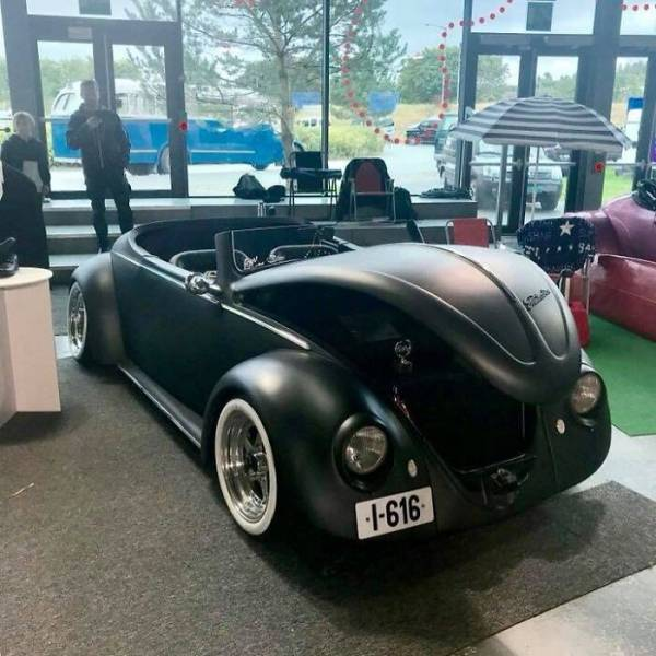From A 1961 Volkswagen Beetle Deluxe To A Black Matte Roadster