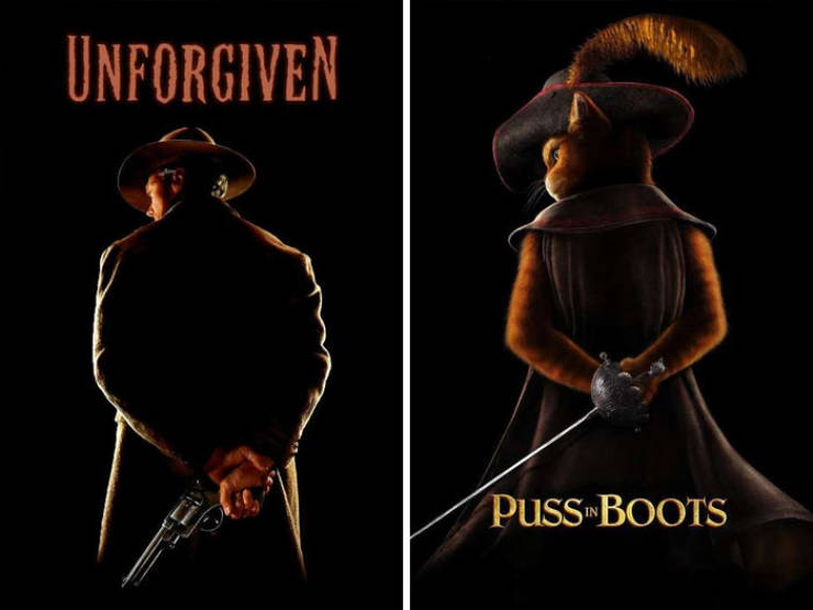 These Movie Posters Look Suspiciously Similar…
