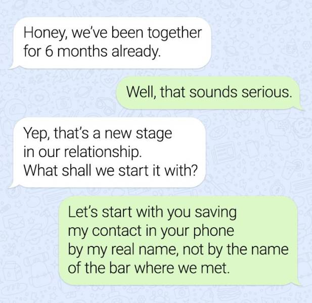 These Texts Are Extremely Awkward…