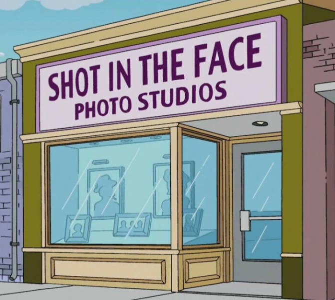 """The Simpsons"" Had Some Very Funny Business Names"