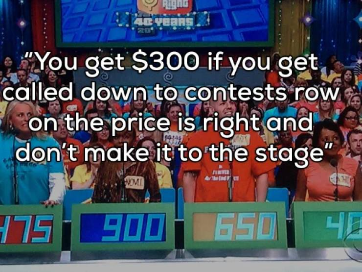 What It's Like To Win A Game Show…