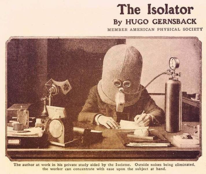 A régi technológia érdekes ... De nagyon furcsa