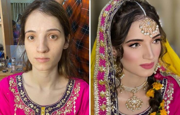 How Wedding Makeup Can Transform Women