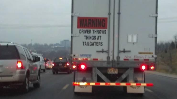 Read The Bumper Sticker!