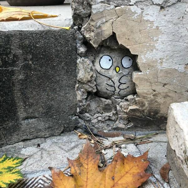That's Some Great Street Vandalism!