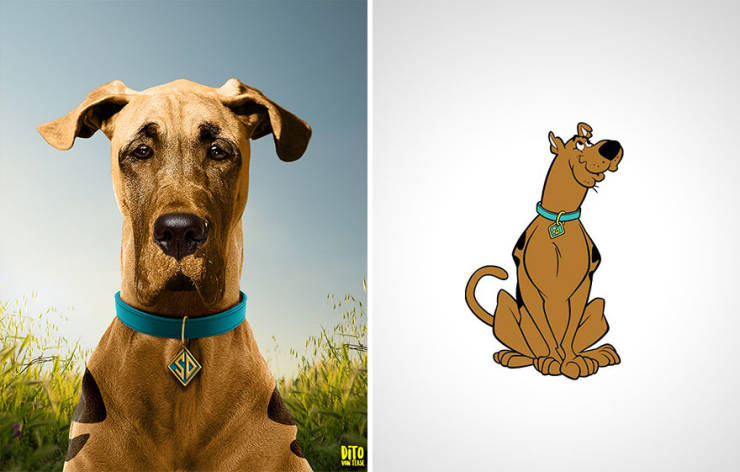 If Cartoon Characters Were Real…