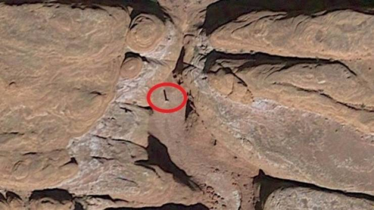 Helicopter Crew Finds A Curious Metal Monolith In Utah Desert
