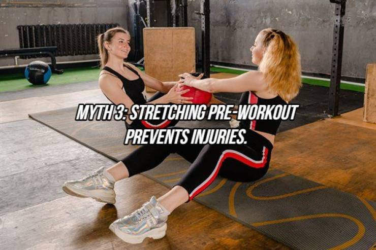 There Are So Many Myths About Fitness…