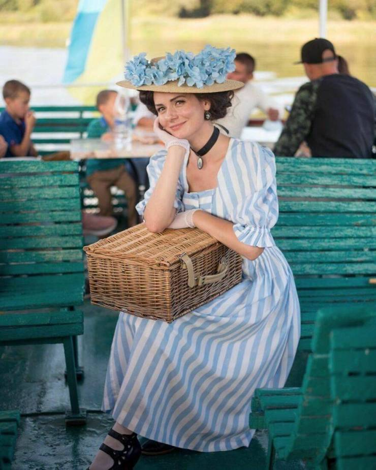 This Woman Loves Her 19th Century Attires!