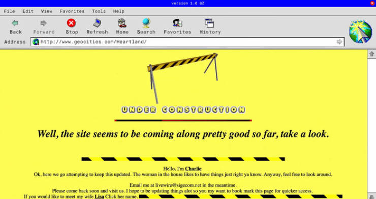 Early Internet Was Simpler… And Weirder