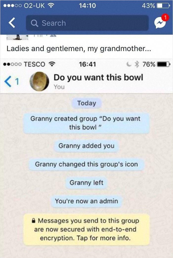 Old People Vs Social Media…