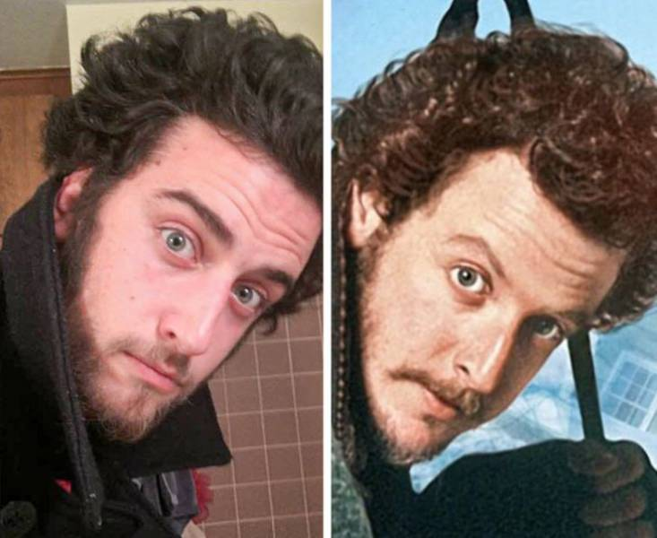 When You Find Out You Are A Celebrity Doppelganger…