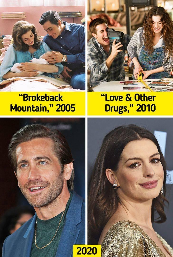 Famous Movie Couples Back Then Vs Now