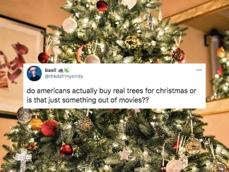 Non-Americans Can't Understand American Christmas Traditions…