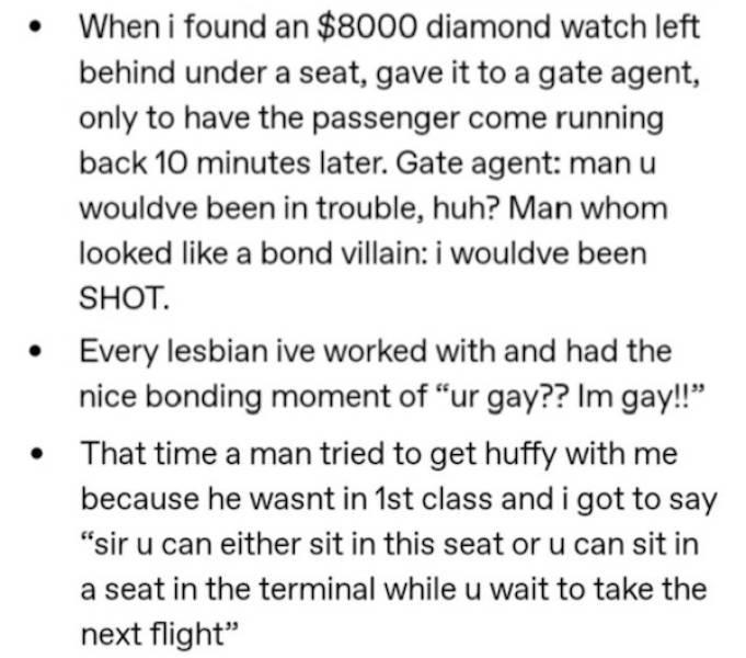 Flight Attendant Shares Her Crazy Job Stories