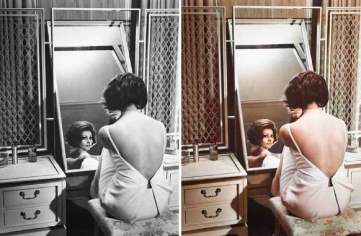 Guy Restores Old Hollywood Celebrity Photos