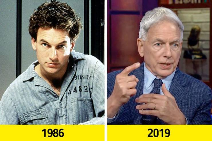 """Most Attractive Men Alive Chosen By """"People"""" Then And Now"""