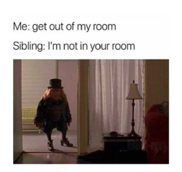 These Sibling Memes Are Still Fighting…