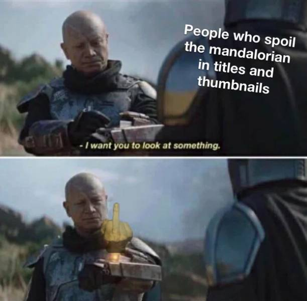 """Take Your Baby Yoda And Look At These """"Mandalorian"""" Memes"""