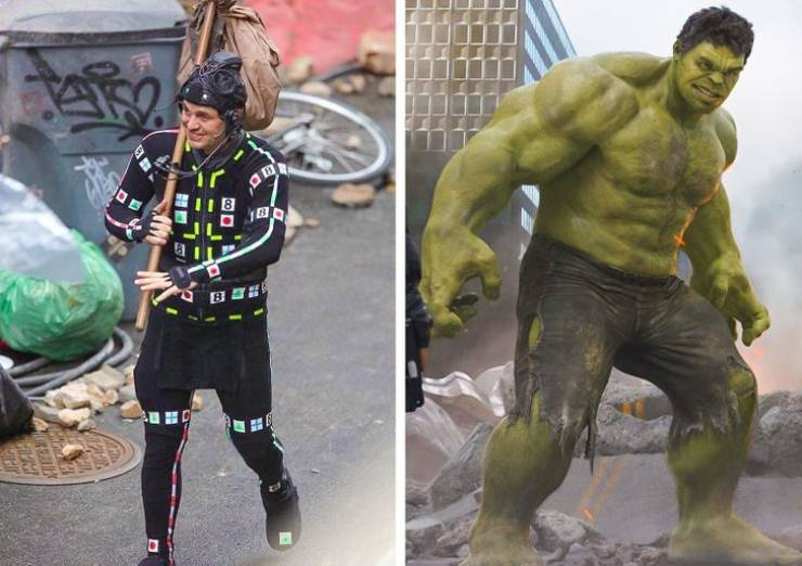 Behind-The-Scenes Photos That Show The Hidden Side Of Popular Movies