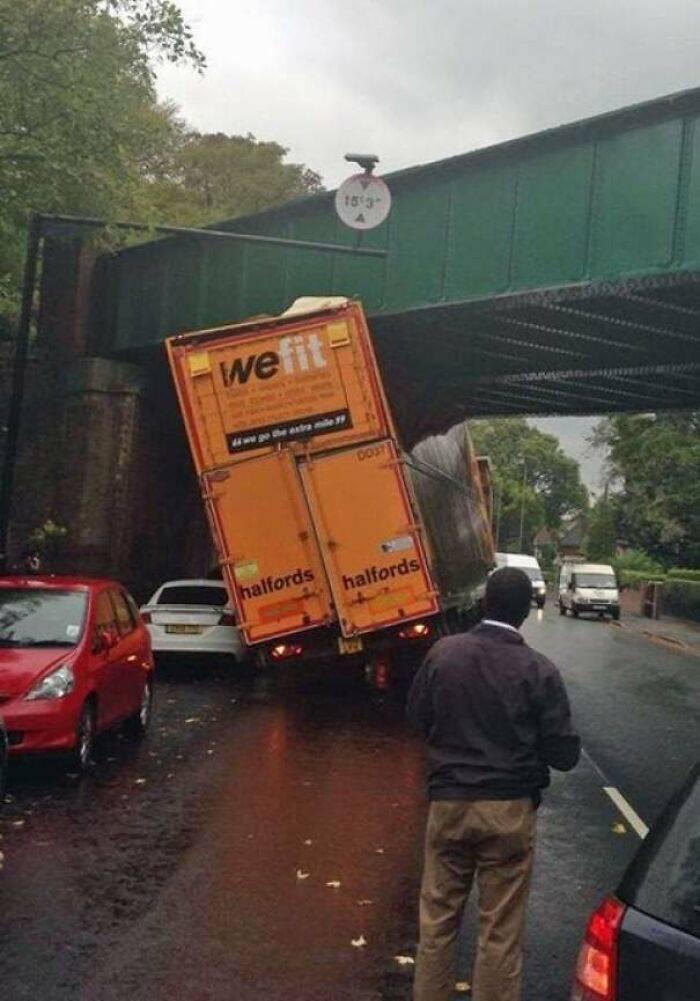 Size Does Matter When It Comes To Low Bridges…