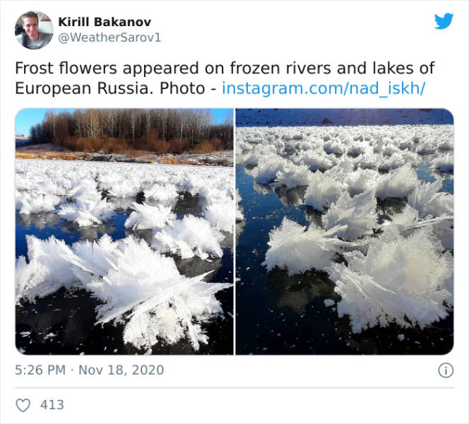 Russian Weather Can Get Real Weird…