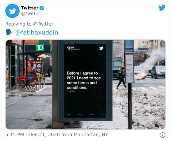 2020 Summed Up In Tweets…