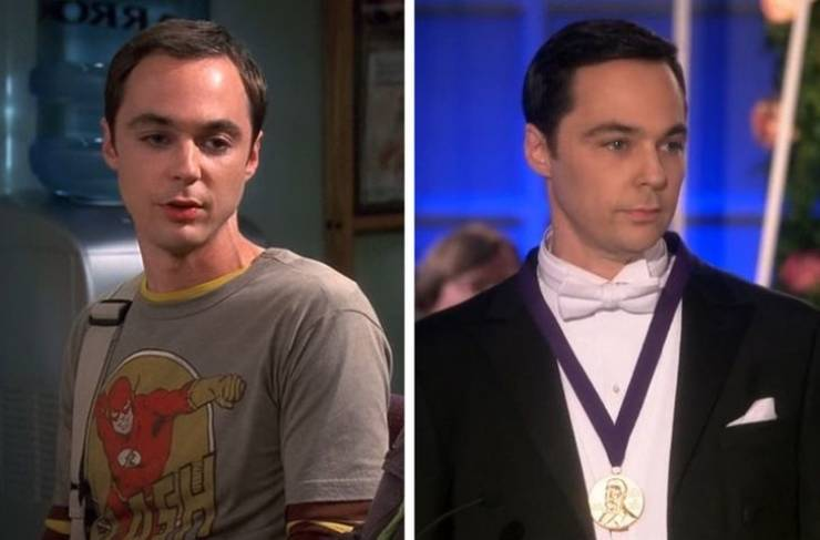 Famous TV Series Characters In Their First And Last Episodes